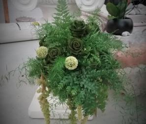 Bouquet in verde