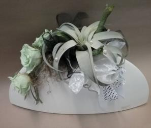 composizione in vaso di ceramica di Bassano