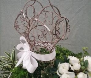 struttura abito fiori