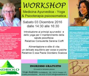 workshop ayurveda